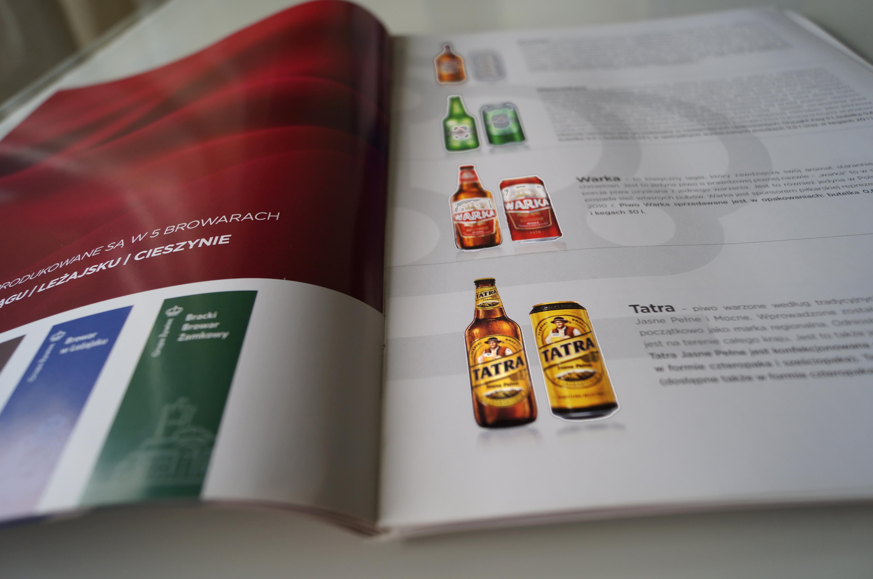 katalogi lakier UV wybiórczy drukarnia Eurograph